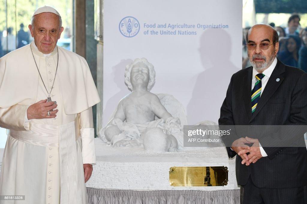 ITALY-VATICAN-FAO-WORLD-FOOD-DAY : News Photo
