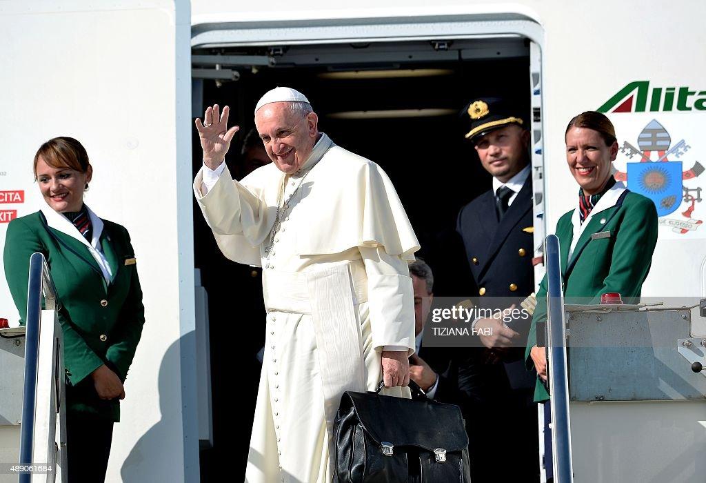 VATICAN-POPE-CUBA-USA : News Photo