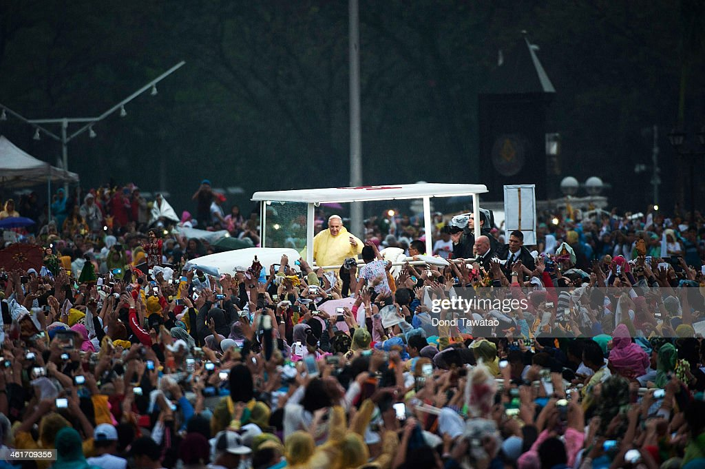 Pope Francis Visits Philippines - Day 4 : News Photo