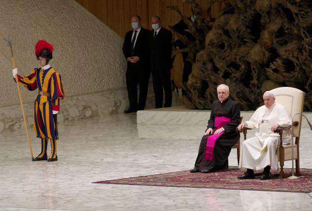 VAT: Pope Francis General Weekly Audience in Vaticano