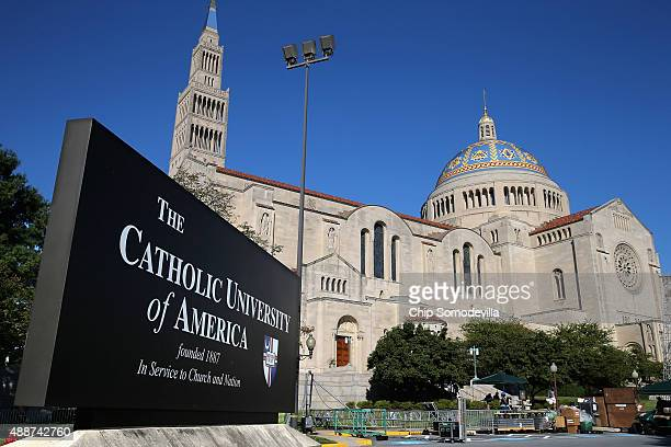 Pope Francis will celebrate Mass next week for 25000 people on the east portico of the Basilica of the National Shrine of the Immaculate Conception...