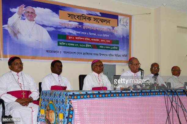 Pope Francis will visit Dhaka from November 30 to December 2 which comes after his visit to Myanmar Cardinal Patrick D' Rozario says at a press...