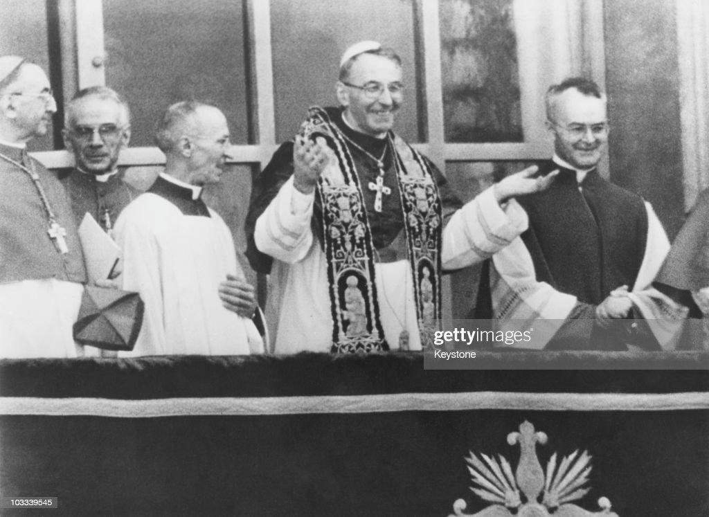 Pope John Paul I : News Photo