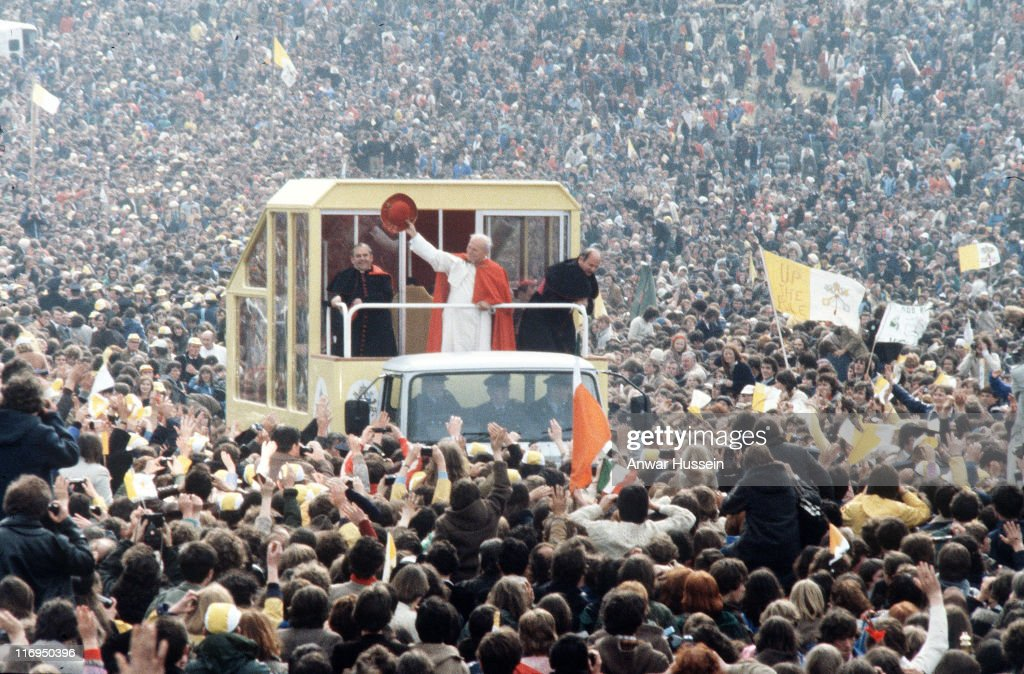 Pope John Paul II Visit To Ireland In 1979