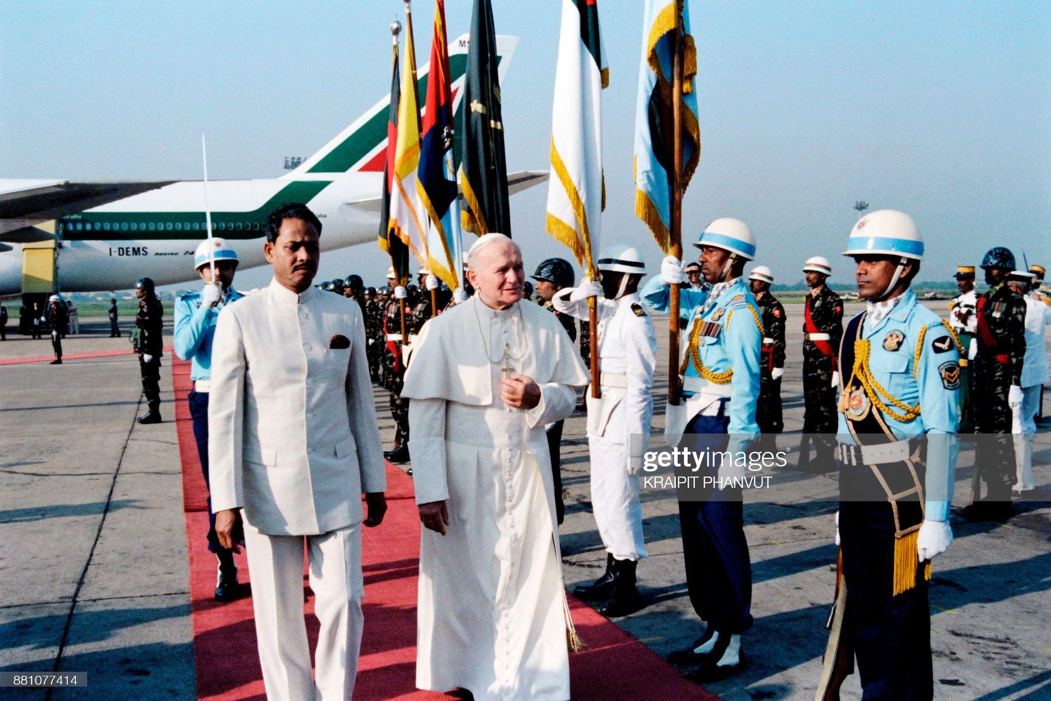 BANGLADESH-RELIGION-JOHN PAUL II : News Photo