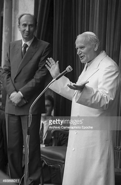 Pope John Paul II visits Venice and Mestre 1985