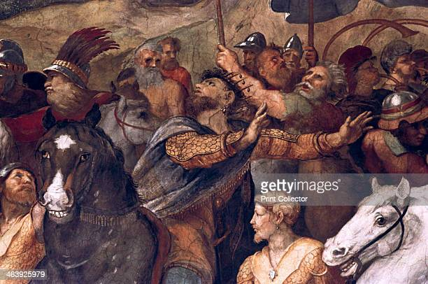 'Pope Leo I Repulsing Attila' 151114 Vatican Museums and Galleries Vatican City Italy