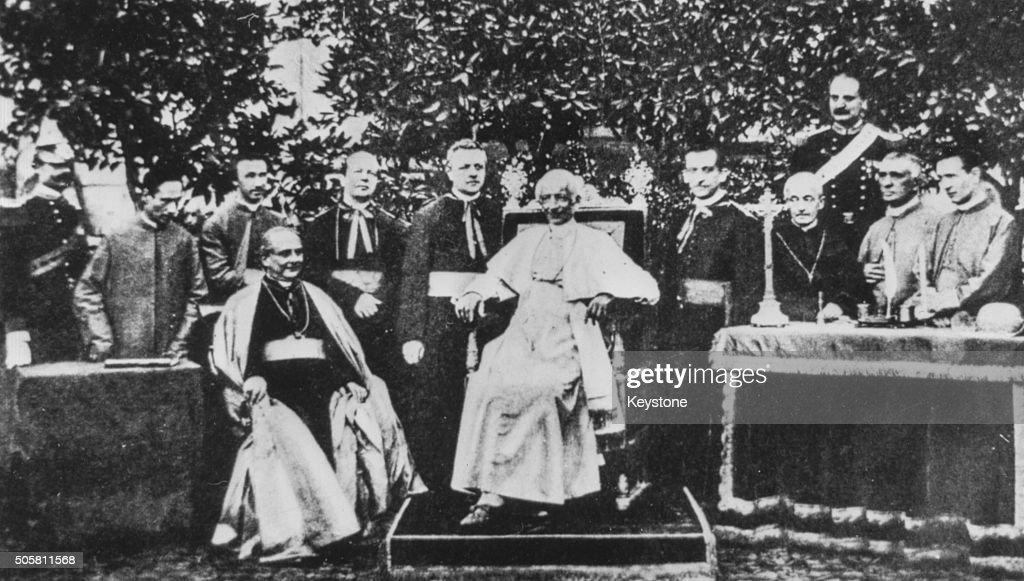 Pope Leo XIII : News Photo