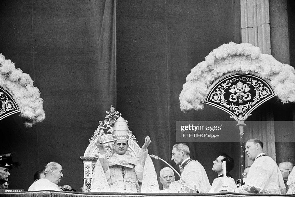 Pope Paul Vi At Easter : Foto di attualità