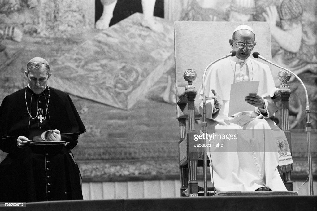 Pope Paul VI : News Photo