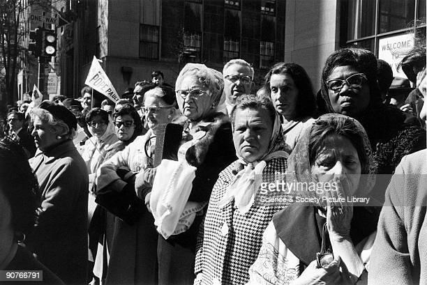 Pope Paul VI visits New York November 1965 British born photographer Tony RayJones received an MFA diploma from the Yale University School of Art...