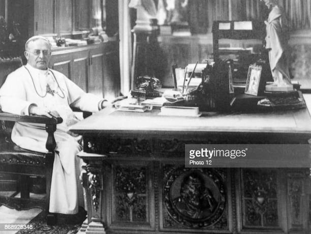 Pope Pius XI born Ambrogio Damiano Achille Ratti reigned from 6 February 1922 to his death in 1939