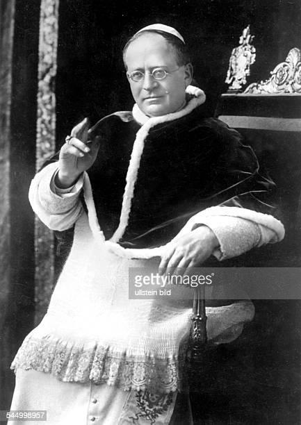 Pope Pius XI. Theologian, Italy - *31.05.1857-+