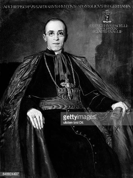Pope Pius XII Theologian Italy*02031876nee Eugenio Maria Giuseppe Giovanni PacelliPope 19391958 Portrait as papal secretary of state Pacelli Eugenius...