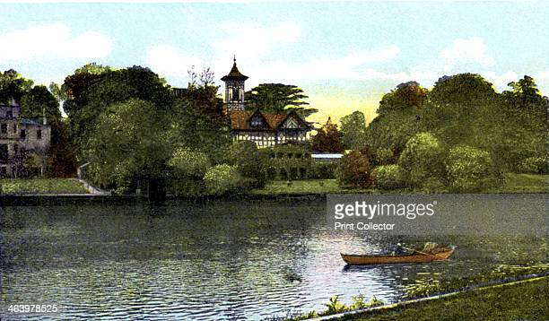 Pope's Villa Twickenham London 20th Century This was the home of the poet Alexander Pope Postcard from The Souvenir Album Views of London And The...
