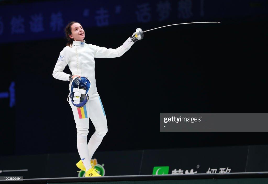 FENCING-CHN : News Photo