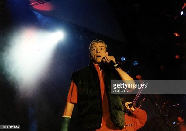 Popgruppe USA Konzert in Oberhausen JustinTimberlake 1997