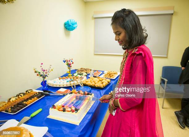 Popi cutting the cake during a party thrown for her at Toronto General Hospital In September in her hometown in Bangladesh Popi Rani Das took ill to...