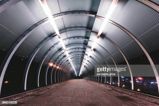 poplar overpass, canary wharf, london, england - canary wharf stock photos and pictures