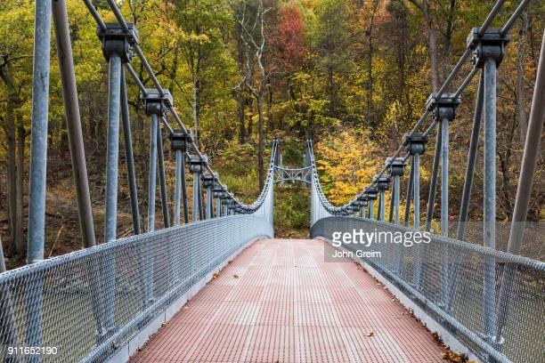 Popolopen Suspension Footbridge at Bear Mountain State Park