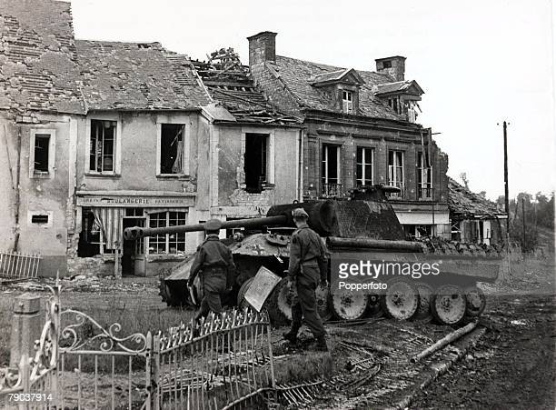 Popperfoto via Getty Images The Book Volume 1 Page 83 Picture 6 World War II The return to the shattered but free village of Lingevres in Normandy...