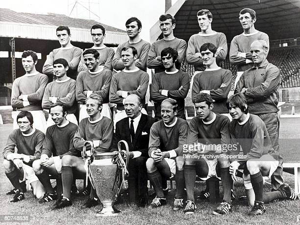 Popperfoto The Book Volume 1 Page 86 Picture 5 Football A group picture of the European Cup winning Manchester United football team of 1968/69 Billy...