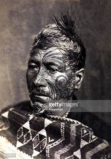 Popperfoto via Getty ImagesThe Book Volume 1Page 92 Picture8 Finely tattooed Maori New Zealand