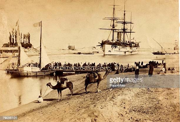 Popperfoto via Getty ImagesThe Book Volume 1Page 93 Picture 4 General view of El Kantara on the Suez Canal 1870