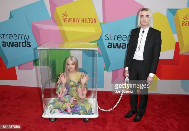 Poppy at the 2017 Streamy Awards at The Beverly Hilton Hotel on September 26 2017 in Beverly Hills California