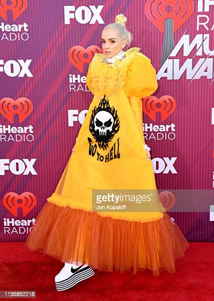 Poppy attends the 2019 iHeartRadio Music Awards which broadcasted live on FOX at Microsoft Theater on March 14, 2019 in Los Angeles, California.