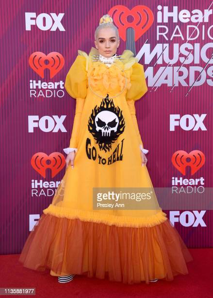 Poppy attends the 2019 iHeartRadio Music Awards which broadcasted live on FOX at Microsoft Theater on March 14 2019 in Los Angeles California