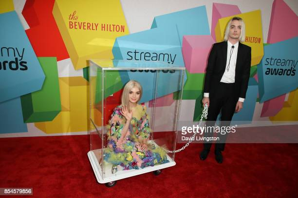 Poppy attends the 7th Annual 2017 Streamy Awards at The Beverly Hilton Hotel on September 26 2017 in Beverly Hills California