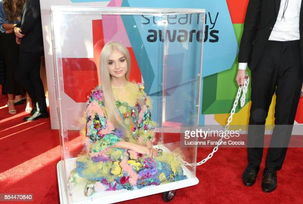 Poppy attends the 7th Annual Streamy Awards at The Beverly Hilton Hotel on September 26 2017 in Beverly Hills California