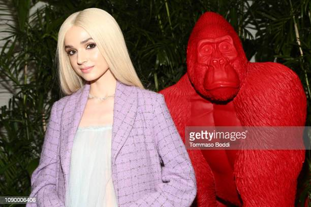 Poppy attends the Giorgio Armani Beauty at Best Performances held at Chateau Marmont on January 04, 2019 in Los Angeles, California.
