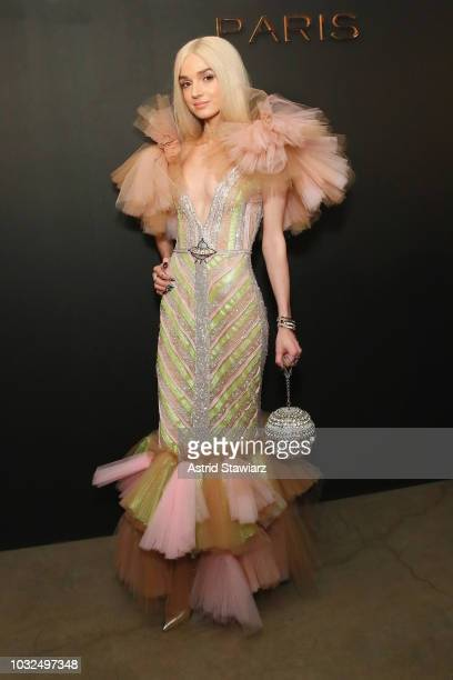 Poppy attends the MESSIKA Party NYC Fashion Week Spring/Summer 2019 Launch Of The Messika By Gigi Hadid New Collection at Milk Studios on September...