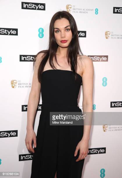 Poppy CorbyTuech attends the EE InStyle Party held at Granary Square Brasserie on February 6 2018 in London England