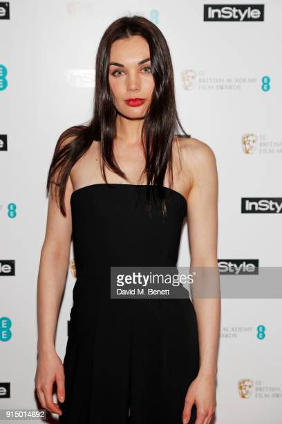Poppy CorbyTuech attends the InStyle EE Rising Star Party Ahead Of The EE BAFTAs at Granary Square on February 6 2018 in London England