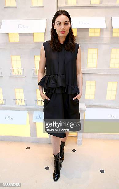 Poppy CorbyTuech attends the opening of the House Of Dior on New Bond Street on June 8 2016 in London England