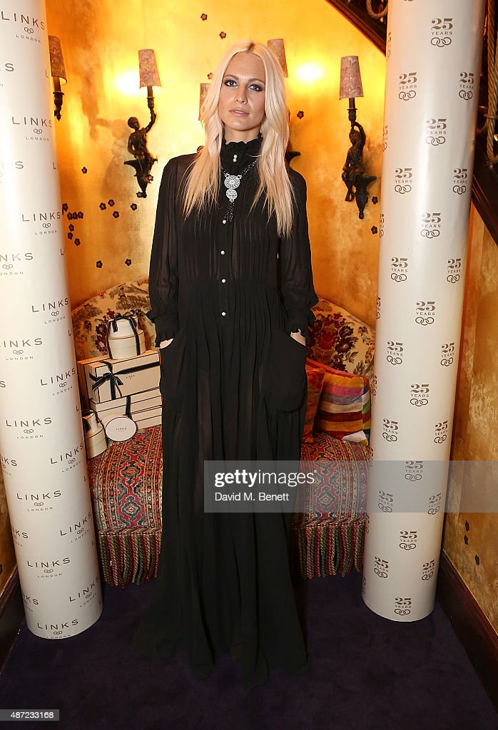 Poppy Delevigne attends the Links of London 25th Anniversary party at Loulou's on September 7, 2015 in London, England.