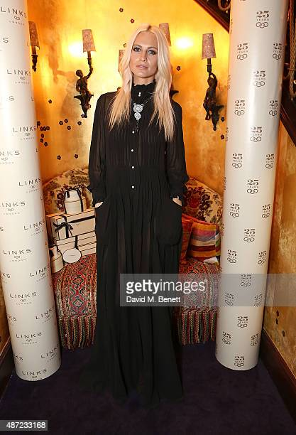 Poppy Delevigne attends the Links of London 25th Anniversary party at Loulou's on September 7 2015 in London England