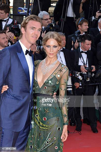 Poppy Delevingne and James Cook attend the 'Carol' Premiere during the 68th annual Cannes Film Festival on May 17 2015 in Cannes France