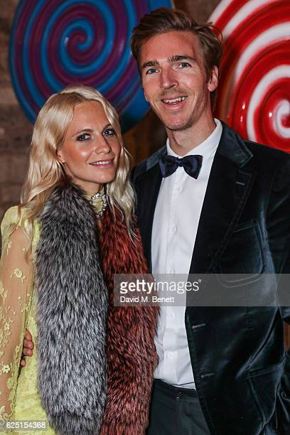 Poppy Delevingne and James Cook attend the Save The Children Winter Gala at The Guildhall on November 22 2016 in London England