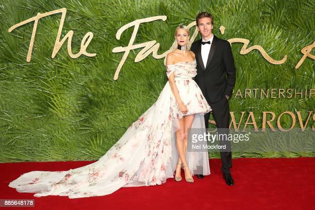 Poppy Delevingne and James Cook attends The Fashion Awards 2017 in partnership with Swarovski at Royal Albert Hall on December 4 2017 in London...