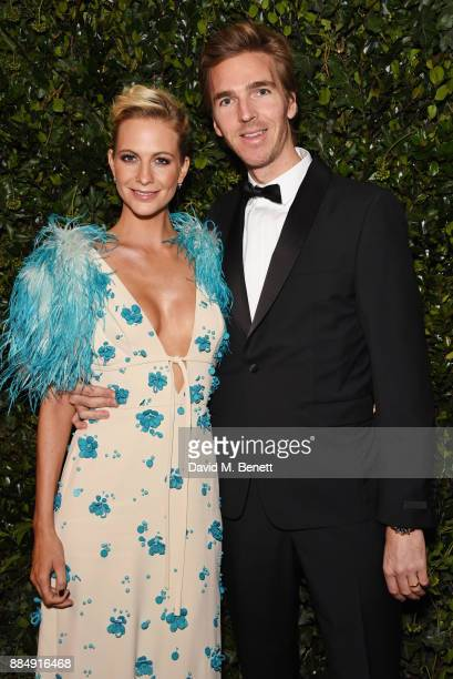 Poppy Delevingne and James Cook attends the London Evening Standard Theatre Awards 2017 at the Theatre Royal Drury Lane on December 3 2017 in London...