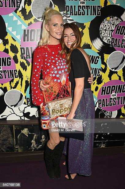 Poppy Delevingne and Sara MacDonald attend 'Hoping's Greatest Hits' the 10th anniversary of The Hoping Foundation's fundraising event for Palestinian...
