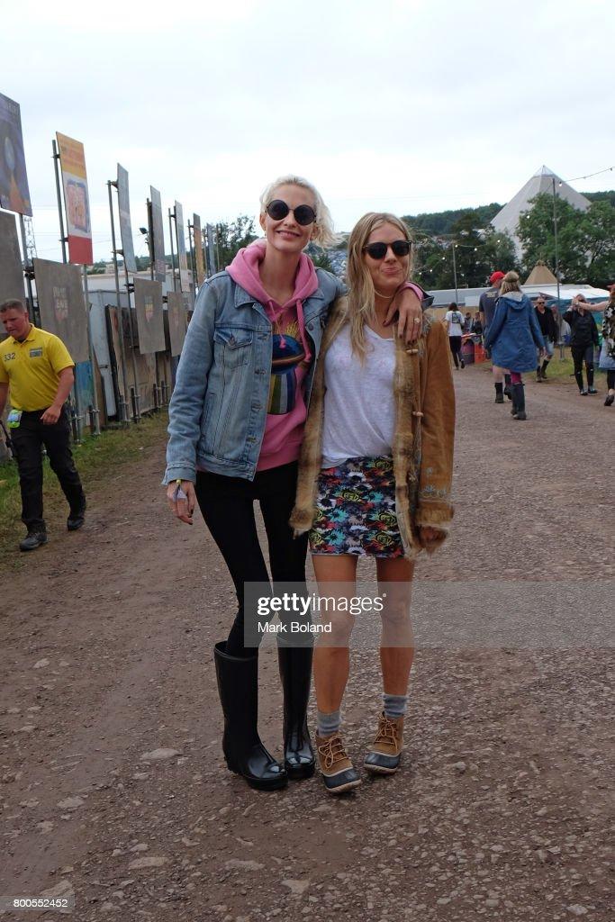 Celebrity Sightings at Glastonbury : News Photo