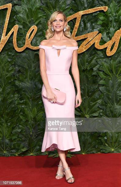 Poppy Delevingne arrives at The Fashion Awards 2018 In Partnership With Swarovski at Royal Albert Hall on December 10, 2018 in London, England.