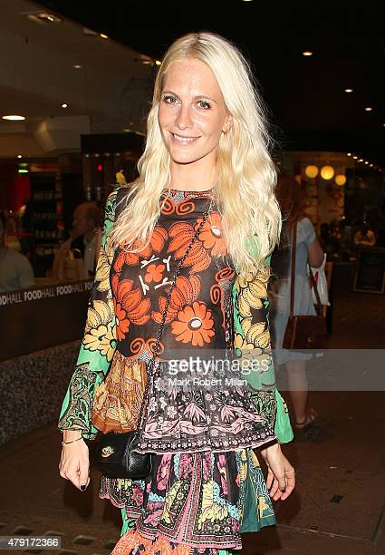 Poppy Delevingne attending the Tiffany Co Exhibition 'Fifth And 57th' Opening Night on July 1 2015 in London England