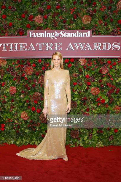 Poppy Delevingne attends 65th Evening Standard theatre Awards in association with Michael Kors at the London Coliseum on November 24, 2019 in London,...