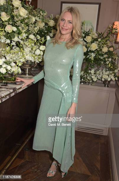 Poppy Delevingne attends an intimate dinner hosted by Edward Enninful and Anne Mensah in celebration of the BAFTA Breakthrough Brits at Kettner's on...